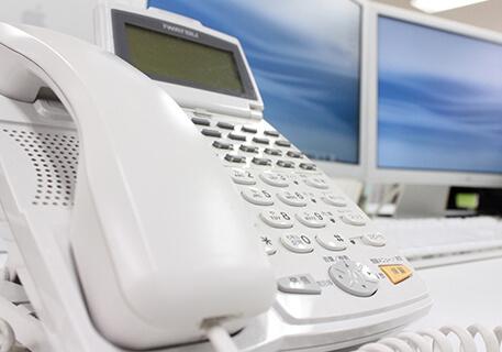 お申込み電話のイメージ